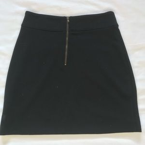 Black BDG mini skirt